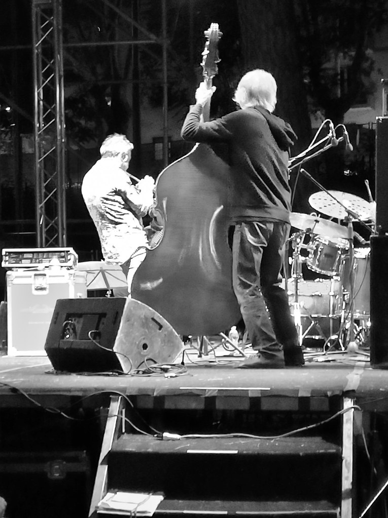Paolo Fresu Devil's Quartet backstage