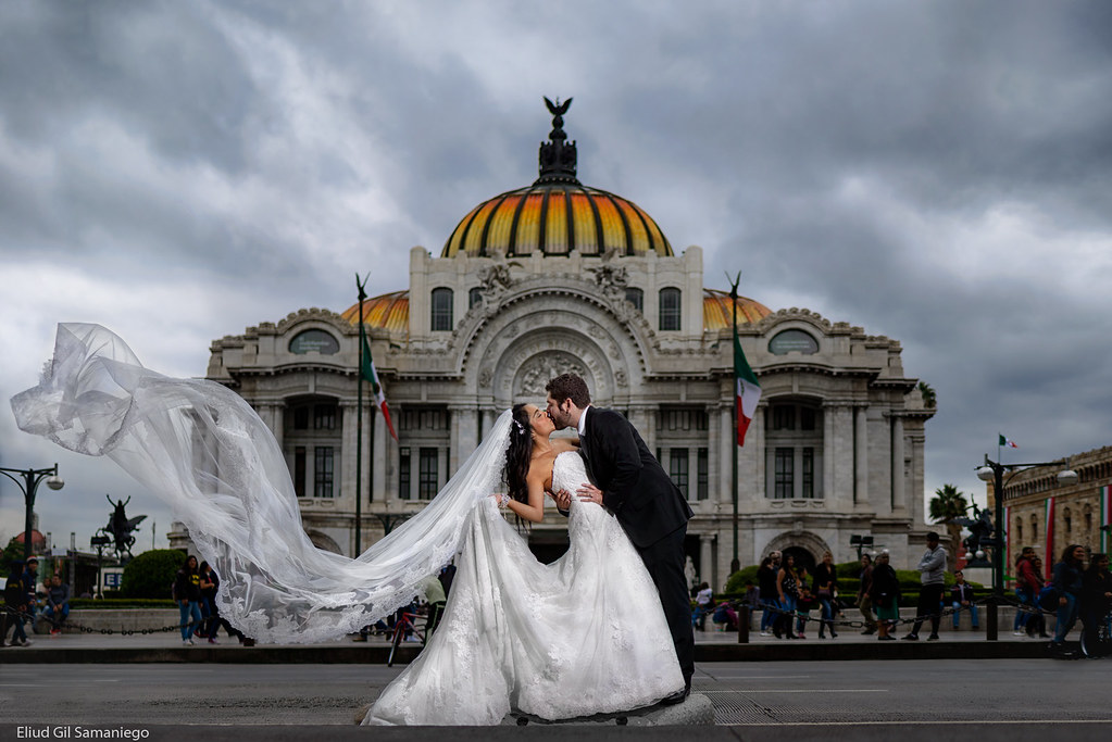 Boda en Bellas Artes CDMX