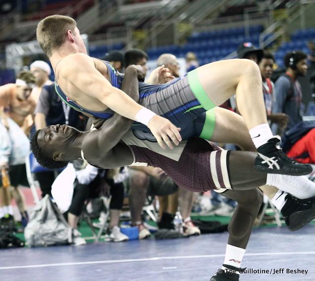 138 pounds Dalan Jones of Minnesota 180719BJF0028