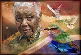 Remembering Nelson Mandela - Madiba Rainbows Of Tolerance   by Daniel Arrhakis