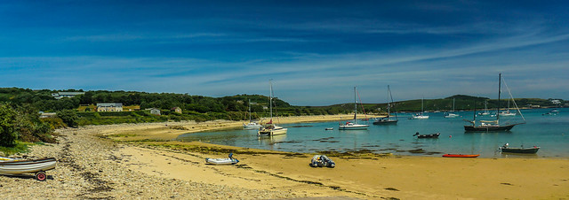 Panoramic Coastal Landscape