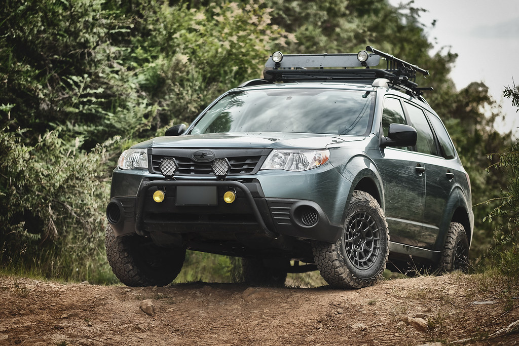 Lifted Subaru Forester >> 2012 Subaru Forester Now With 1 1 375 Adf Lift Black Rh Flickr