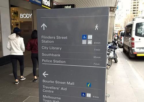 Central Melbourne wayfinding | by Daniel Bowen
