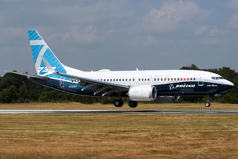 N7201S   Boeing 737-7 MAX   Boeing