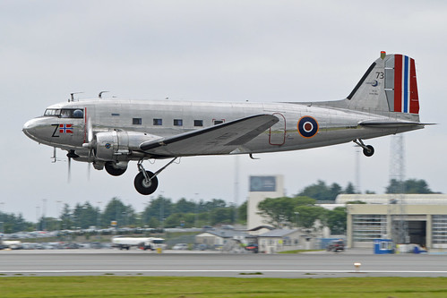 Douglas C-53D Dakota '73 / Z' (LN-WND) | by Hawkeye UK