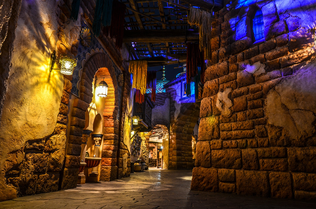 Arabian Coast alley night TDS