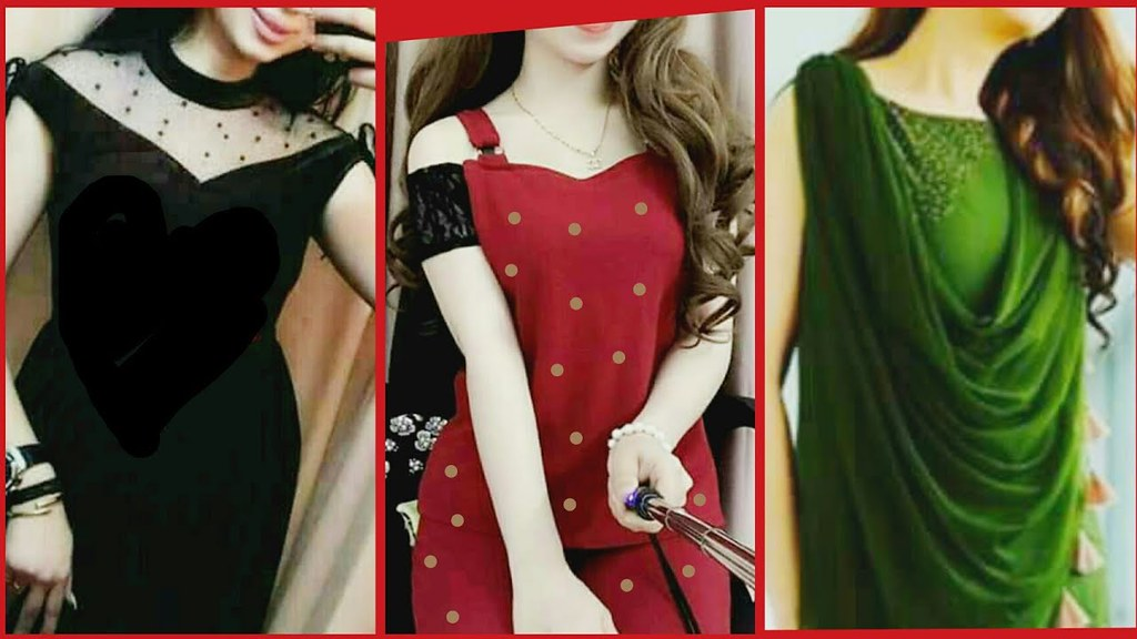 Top 50 Stylish Neck Designs For Kurti Kurta Frocks 2018 L Flickr