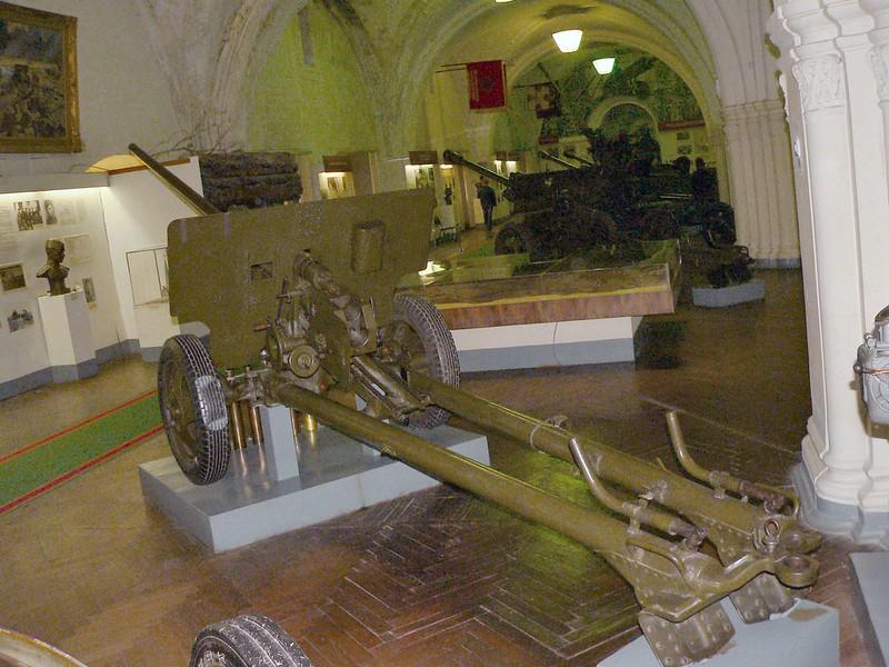57毫米癌-2枪国防部。1943年6