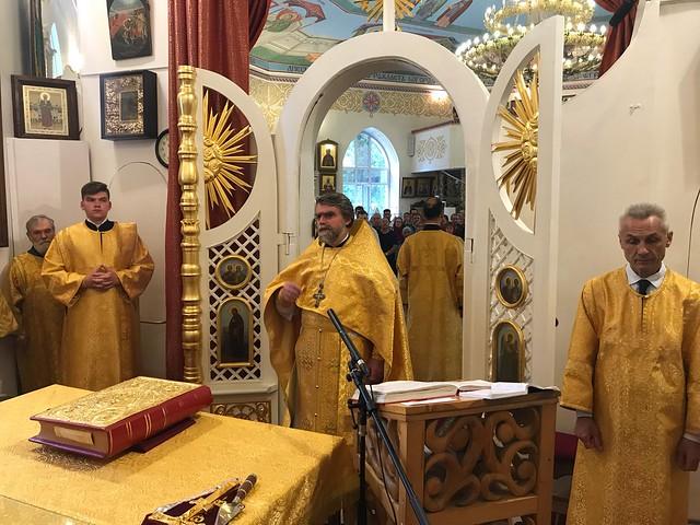 8 июля 2018 - Миссионерская Божественная Литургия