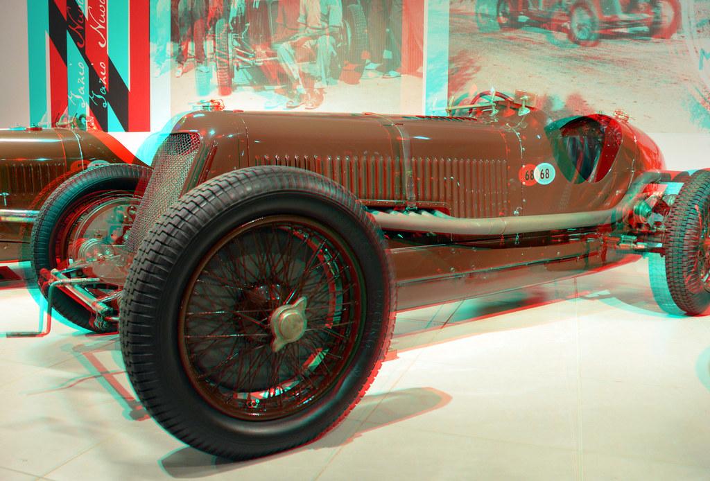 Maserati 8cm monoposto GP-car 1933 Louwman 3D | anaglyph ste… | Flickr