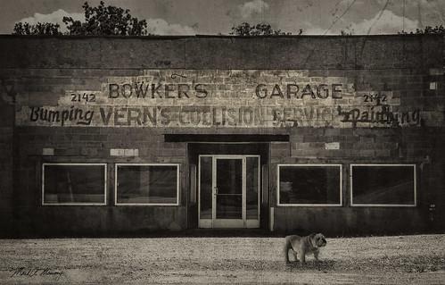 grunge abandoned sepia