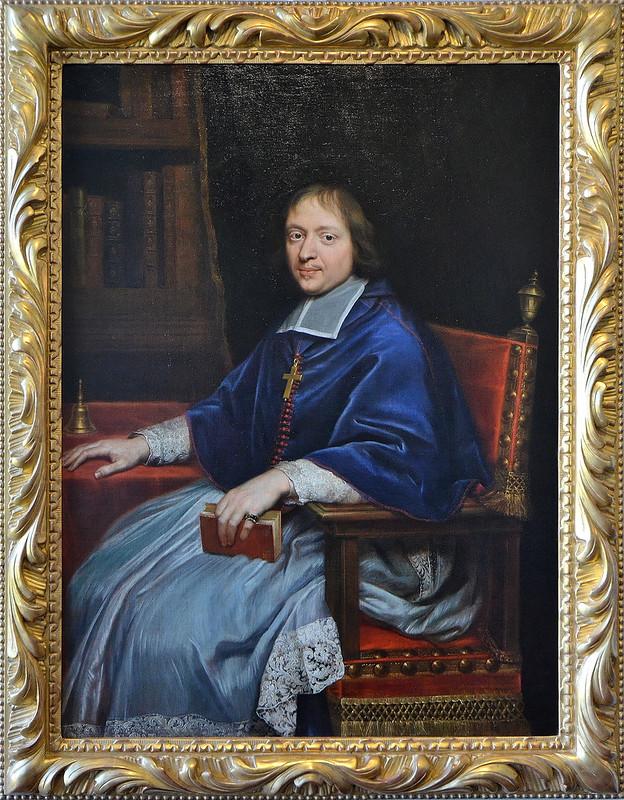 """Meaux (Seine et Marne) - Musée Bossuet - """"Portrait de Jacques-Bénigne Bossuet, évêque"""" (Pierre Mignard, 1612-1695)"""