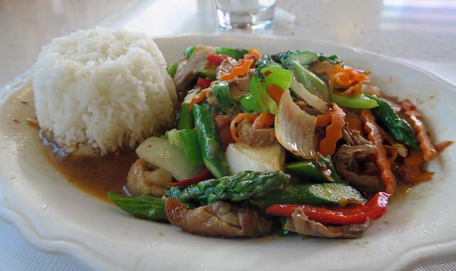Duck with Hot Basil - Thai House