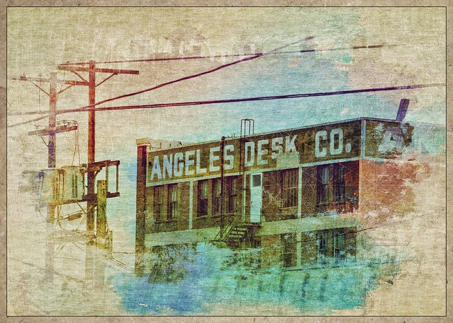 Angeles Desk Company #losangeles #dtla #artistry_flair #everything_edited #theappwhisperer #hipstamatic #photocopier #snapseed #mexturesapp #mextures #formulas #textured #texturized