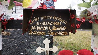 Roadside Memorial for Carlos Romero Espinoza (3 of 4)