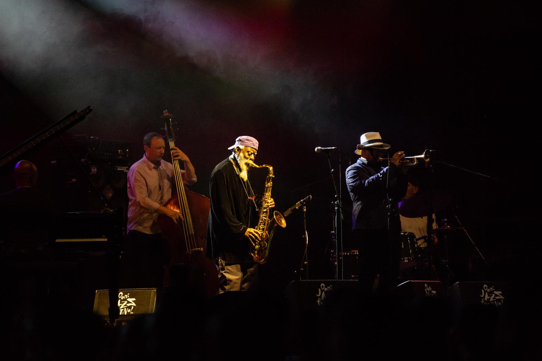 38 Pharoah Sanders Quartet with Nicolas Payton-7241
