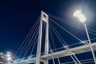 Bridge in the blue night sky | by www.adrianosobralfotografias.com.br