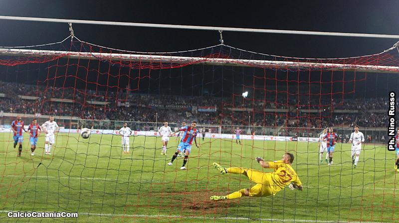 Furlan durante Catania-Trapani 2018/19