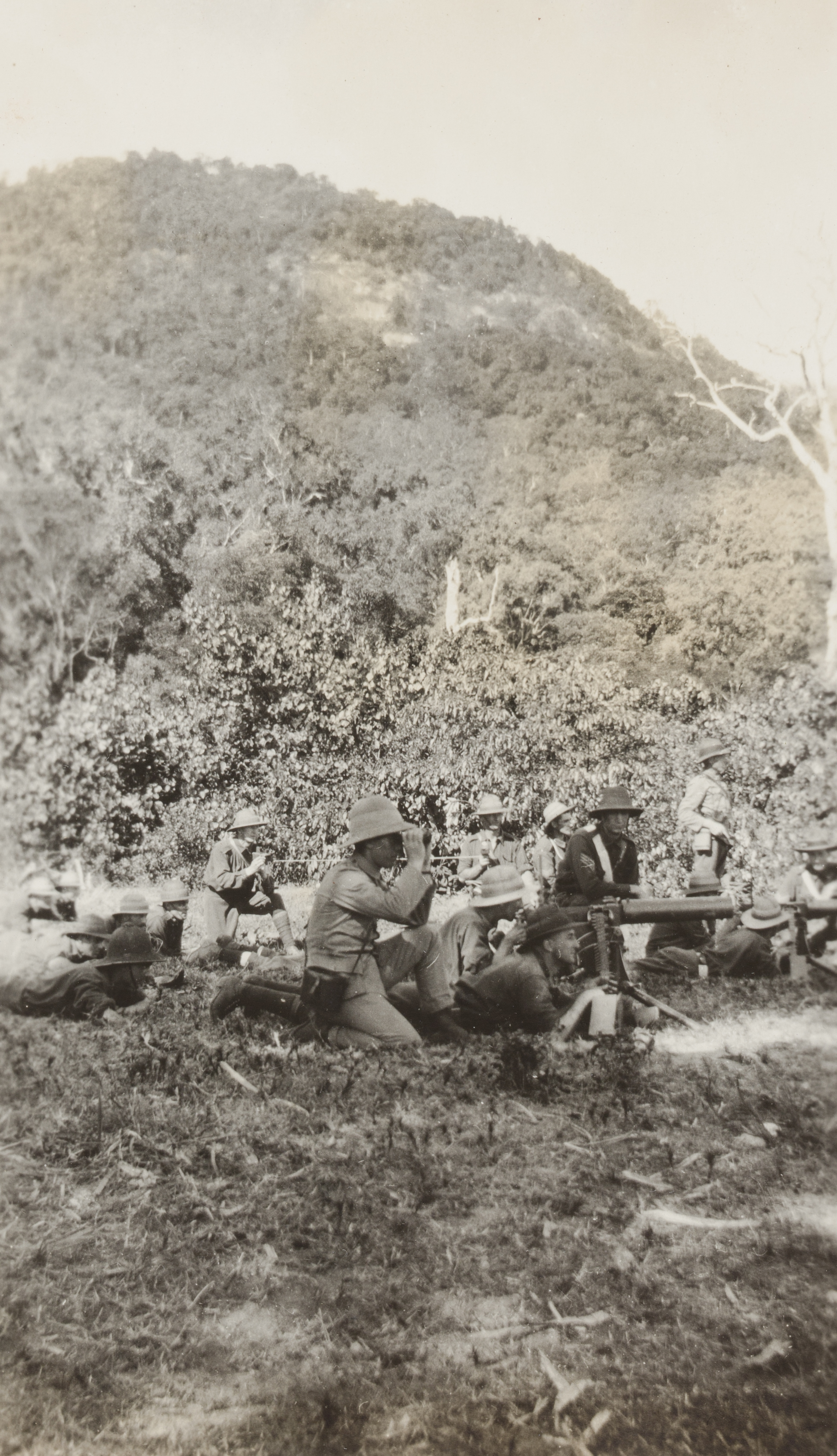 Australian troops training at Palm Island, 1914, F. S. Burnell, PXA 2165