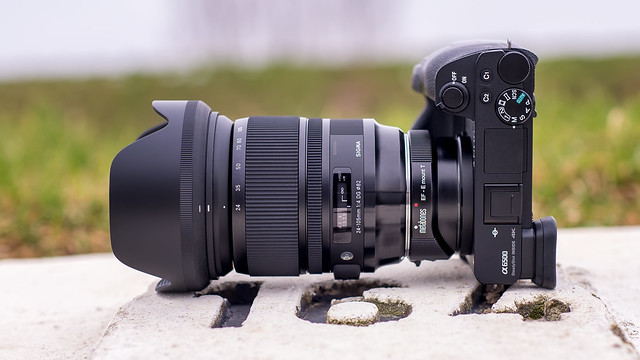 SONY ⍺6500 & Sigma 4/24~105 Art on Metabones T V seen by SONY ⍺7III & Sigma 1.4/50 Art on Sigma MC-11