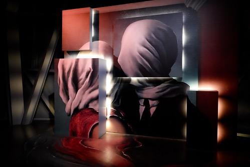Magritte, les Amants, 1928