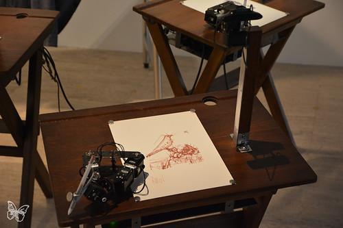 Artists & Robots - Patrick Tresset | by Butterfly Art News