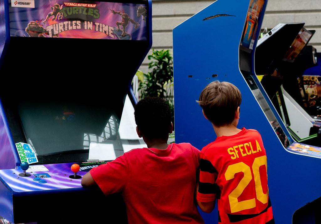 SAAM Arcade Day