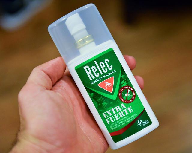 Malditos mosquitos de la Riviera Maya, lleva RELEC!