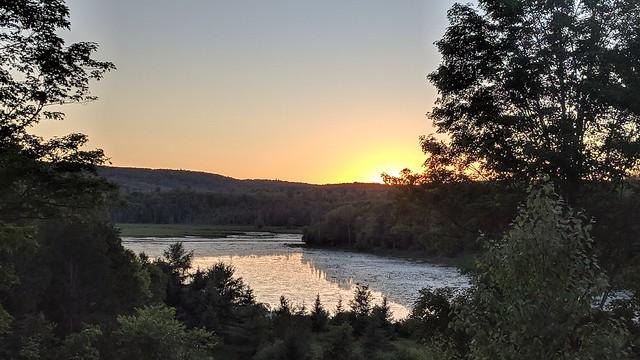 Madawaska Highlands sunset.  #PixelXL  #HDR+  #noedit  slightly zoomed