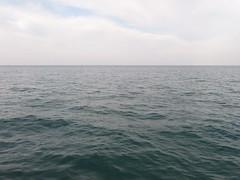 Lake Michigan from North Avenue Beach, Chicago, Illinois