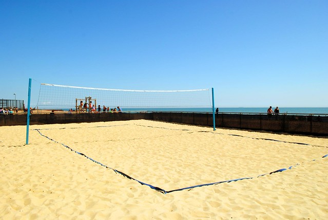 Anyone for beach volleyball?
