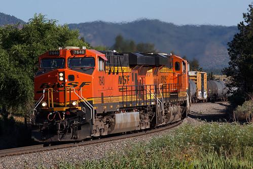 bnsf bnsf7640 ge generalelectric gevo es44dc monument colorado jointline rampartrange train railroad