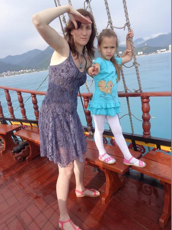 Лилия Гафарова На пиратском корабле