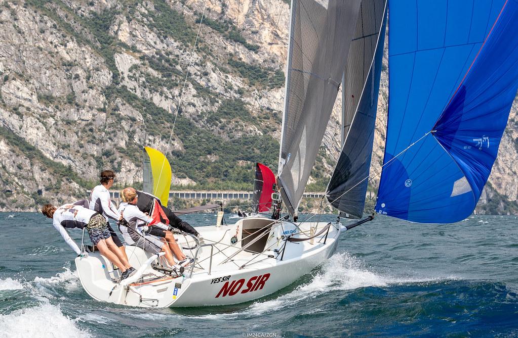 ae9d376365b314 ... 2018 - Torbole - Melges 24 European Sailing Series Day 3