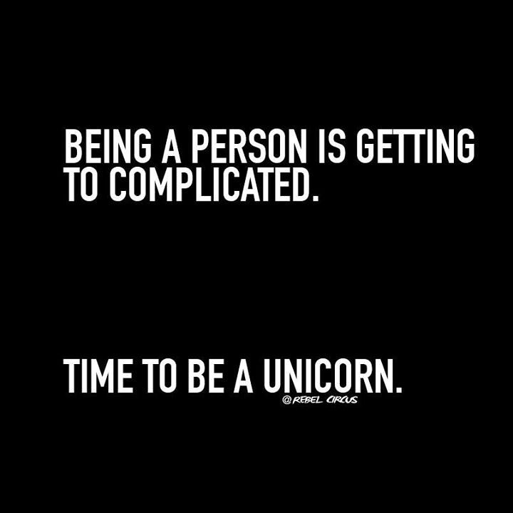 Funny Quotes : Being a person is getting too complicated ...