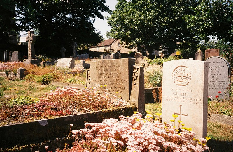 Dundry churchyard