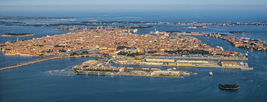 Italien Italy Venedig Venice From Airplane Nikon Df