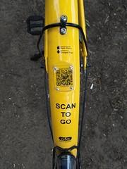 ofo bike QR code