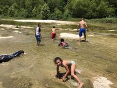Summer ACE - McKinney Falls, Swimming