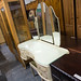 French Style Bedroom dresser Cw Doors and glass top and mirrors E170 comes with stool
