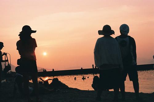 sunset music nikon f3 rama fes ビーチ geo:lat=34280411 geo:lon=133072586