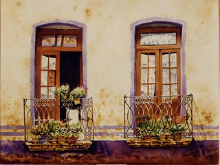 watercolor balcony | by J. Roberto Turu