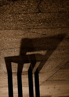 would your shadow like to sit?