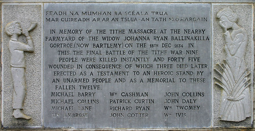 Tithe War Monument  Inscription | by Kman999