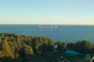 Ships through the Straits of Mackinac | by drewsaunders