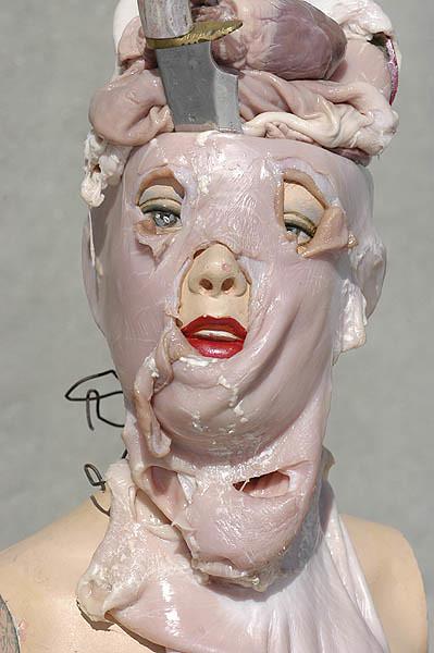 meat mannequin . Lower Manhattan.