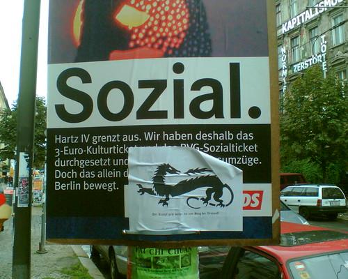 Wahlkampf in Berlin