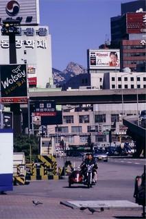 Seoul on a clear day
