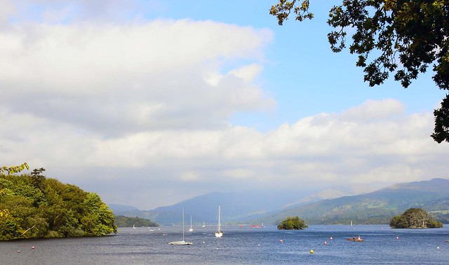 Lake Distirct from Bowness