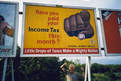 Have you paid your income tax this month ? | by Walt Jabsco